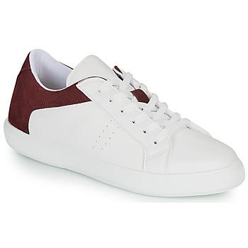 Sapatos Homem Sapatilhas André BIOTONIC Branco / Bordô