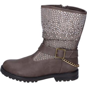 Sapatos Rapariga Botins It's For You Botins BR467 Bege