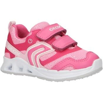 Sapatos Rapariga Multi-desportos Geox B922VA 0EWBC B DAKIN Rosa