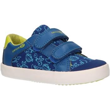 Sapatos Rapaz Multi-desportos Geox B821NA 01054 B GISLI Azul