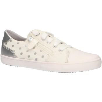 Sapatos Rapariga Sapatilhas Geox J924NC 0SBNF J GISLI Blanco