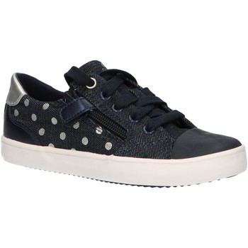 Sapatos Rapariga Sapatilhas Geox J924NC 0SBNF J GISLI Azul