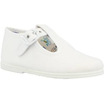 Sapatos Rapaz Chinelos Vulladi 32666 Branco
