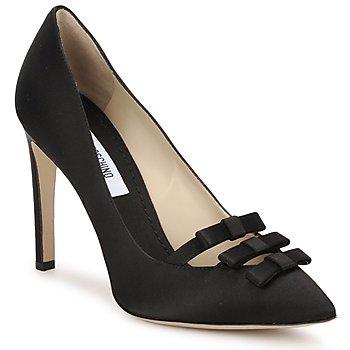 Sapatos Mulher Escarpim Moschino MA1012 Preto