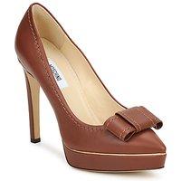Sapatos Mulher Escarpim Moschino MA1009 castanho