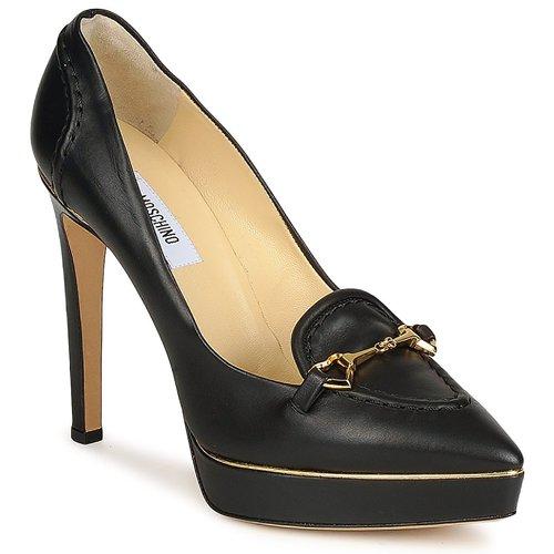 Sapatos Mulher Escarpim Moschino MA1003 Preto