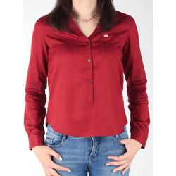 Textil Mulher camisas Lee L47QLCPR burgundy