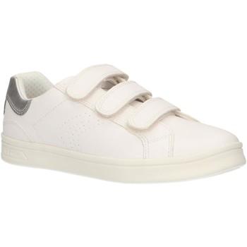 Sapatos Rapariga Sapatilhas Geox J924MH 000BC J DJROCK Blanco