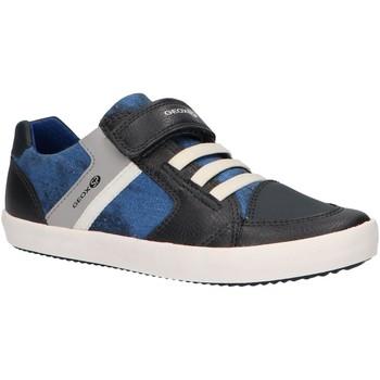 Sapatos Rapaz Multi-desportos Geox J925CB 0ME10 J GISLI Azul