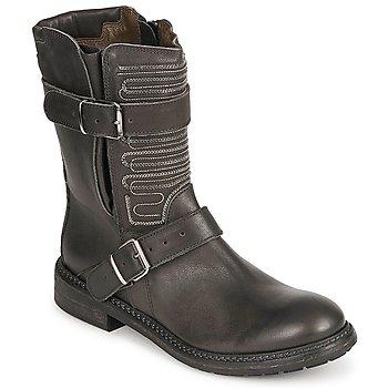 Sapatos Mulher Botas baixas Fru.it ARLINE Preto