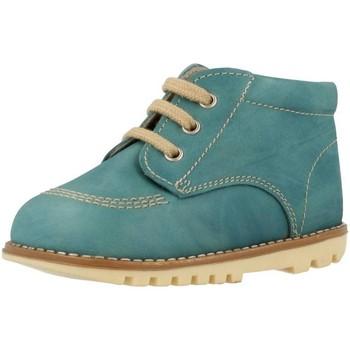 Sapatos Rapaz Botas baixas Landos 61S74 Azul