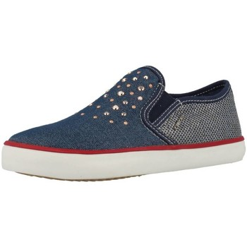 Sapatos Rapariga Slip on Geox J KIWI G Azul