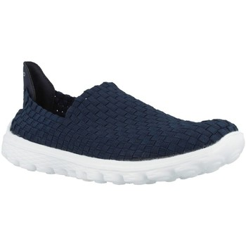 Sapatos Mulher Slip on Chika 10 CHESTER Azul