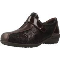 Sapatos Mulher Mocassins Pinosos 7313 G Marron