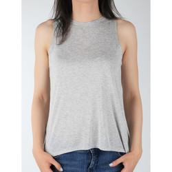 Textil Mulher Tops sem mangas Lee Tank L40MRB37 grey