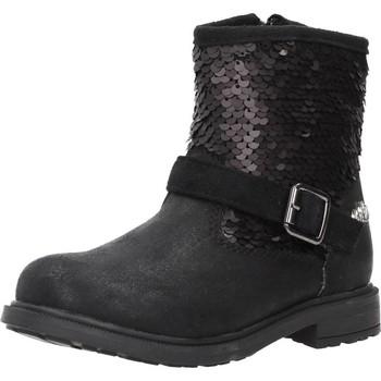 Sapatos Rapariga Botins Lulu 65611 Preto