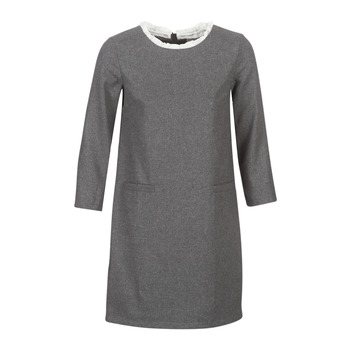 Textil Mulher Vestidos curtos Betty London LABAMA Cinza
