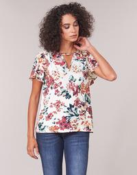 Textil Mulher Tops / Blusas Casual Attitude LAURIANA Branco / Multicolor