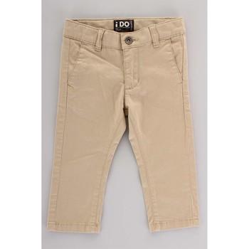 Textil Criança Calça com bolsos Ido 4U230 Bege