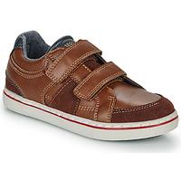 Sapatos Rapaz Sapatilhas André THEOPHILE Castanho