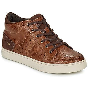 Sapatos Rapaz Sapatilhas de cano-alto André FABOU Castanho