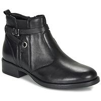 Sapatos Rapariga Botas baixas André MATHI Preto