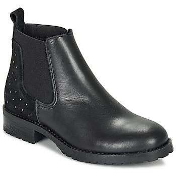 Sapatos Rapariga Botas baixas André SIXTINE Preto