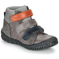 Sapatos Rapaz Botas baixas André NOAM Cinza