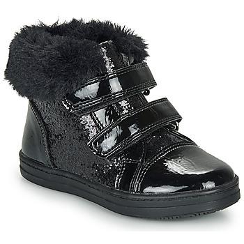 Sapatos Rapariga Sapatilhas de cano-alto André JUDITH Preto