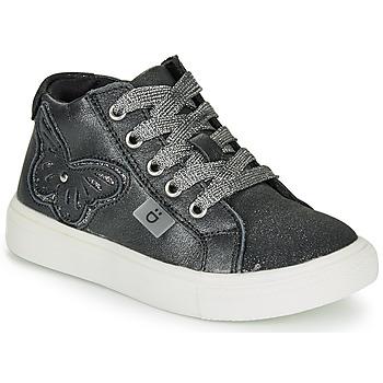 Sapatos Rapariga Sapatilhas de cano-alto André MARIPOSA Cinza