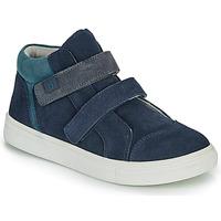 Sapatos Rapaz Sapatilhas de cano-alto André UBUD Marinho