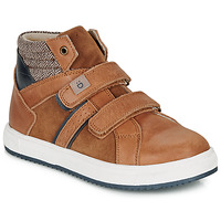Sapatos Rapaz Sapatilhas de cano-alto André TIMOTHE Castanho