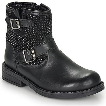 Sapatos Rapariga Botas baixas André CYDRINE Preto