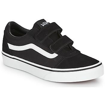 Sapatos Criança Sapatilhas Vans WARD VELCRO Preto