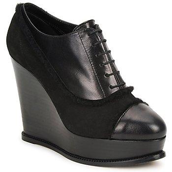 Sapatos Mulher Botas baixas Moschino Cheap & CHIC CA1014 Preto