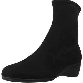 Sapatos Mulher Botas baixas Pinoso's 34631 Preto
