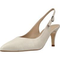 Sapatos Mulher Escarpim Argenta 1336 Silver