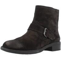 Sapatos Mulher Botins Stonefly EMY II 1 VELOUR Marron