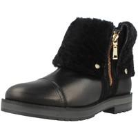 Sapatos Mulher Botins Tommy Hilfiger WEST 7AS Preto