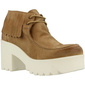 Sapatos Mulher Botas baixas Istome SARA 5 Marron