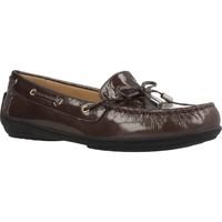 Sapatos Mulher Mocassins Geox D JAMILAH 2FIT B Marron