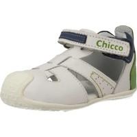 Sapatos Rapaz Sapatos & Richelieu Chicco 68405 Branco