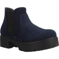 Sapatos Rapariga Botas baixas Different 4216 Azul