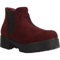 Sapatos Rapariga Botas baixas Different 4216 Vermelho