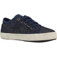 Sapatos Rapaz Sapatilhas Geox J ALONISSO BOY Azul