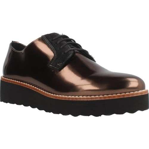 Sapatos Mulher Sapatos & Richelieu Gas SIRJA LACE Marron