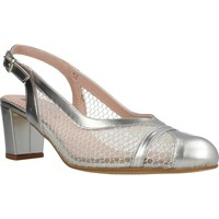 Sapatos Mulher Escarpim Piesanto 1232 Silver