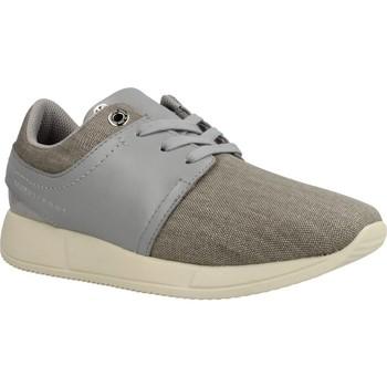 Sapatos Mulher Sapatilhas Tommy Hilfiger SAMANTHA 2C4 Cinza