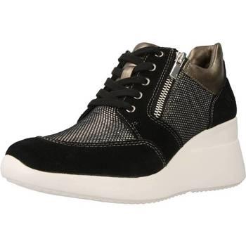 Sapatos Mulher Sapatilhas de cano-alto Lumberjack SW24505 Preto