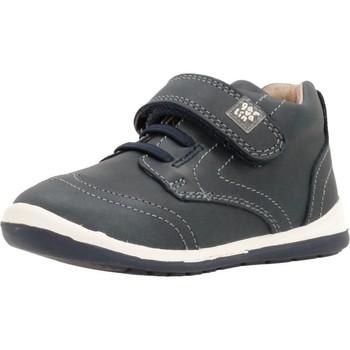 Sapatos Rapaz Sapatilhas de cano-alto Garvalin 171317 Azul